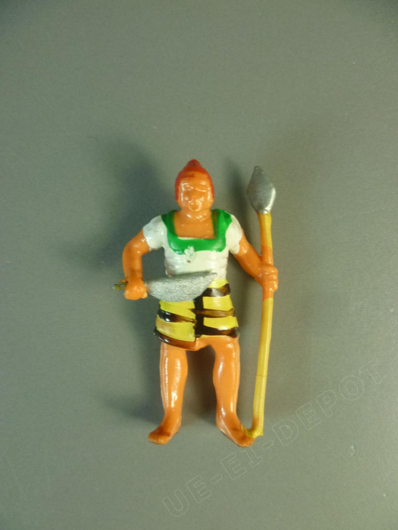Ägypter mit Speer und Sichelmesser