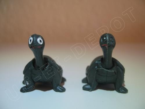 Schildkröte Bemalungsfehler