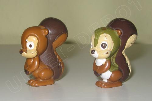 Eichhörnchen in Testbemalung / Vorserienbemalung